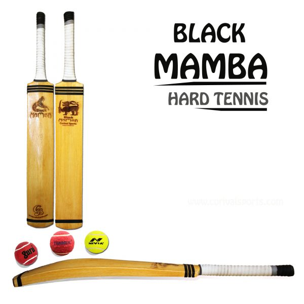 CB Black Mamba Hard Tennis Cricket Bat Made in Sialkot Pakistan