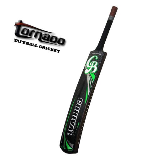 CB – Tornado – Srilankan Wood Tape Ball Cricket Bat Guaranteed Bats
