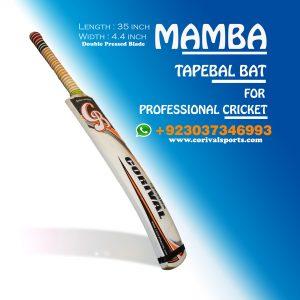 CB Mamba Rawlakot Wood Tape Ball Cricket Bat Guaranteed Bats ☑️Length: 35 inch ☑️Width : 4.4 inch ☑️Weight : 800 to 850 grams ☑️Double Pressed Wood ( Full combination for Smashing) ☑️Full Cane Handle Super comfortable Grip Call | Whatsapp | inbox +923037346993 www.corivalsports.com jawadzafar@corivalsports.com