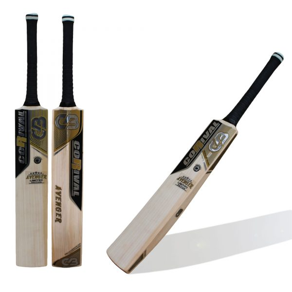 CB AVENGER Limited Edition   English Willow Cricket Bats Hand Crafted Cricket Bats - Hand Picked English Willow Grains: 7 + Weight: 2.8 lb Oz to 2.12 lb Oz Edges: 40 mm (Spine : 60 mm) Perfectly Balanced from top to bottom Comfortable Grip for Perfect Handling Chemical Protection on Toe to prevent it from Moisture Call   Whatsapp   Inbox @ +92 303 7346993 Web :www.corivalsports.com Email: jawadzafar@corivalsports.com