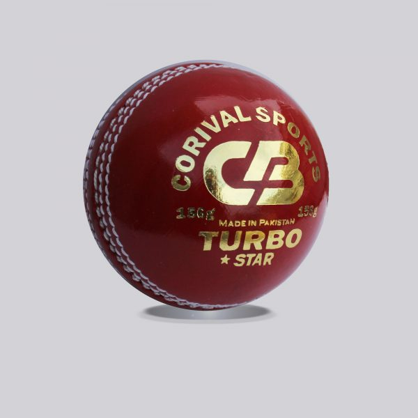 CB Turbo Star | Leather Ball for international Cricket