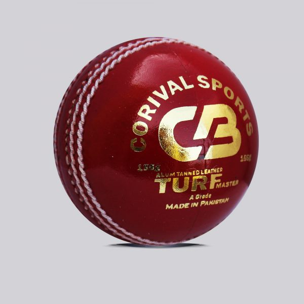 CB Turf Master Alum Tanned | Leather Ball for international Cricket 4 Pcs Leather Ball | Best Quality Cow Hide Natural cork wood center with 5 layers of cork / wool Available in White, Red, Pink and Orange Color Weight Available: 156gm, 142gm & 136gm Hand Stitched Ball Perfect For ODI Cricket Call | Whatsapp | Inbox @ +92 303 7346993 Web :www.corivalsports.com Email: jawadzafar@corivalsports.com
